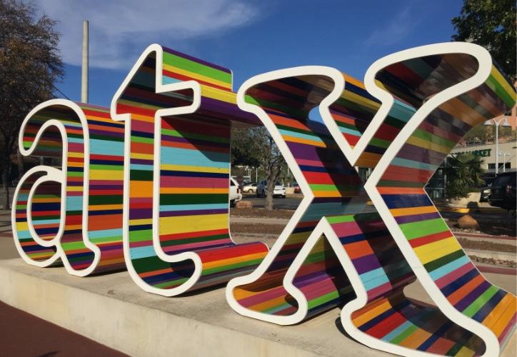 Austin TX sign