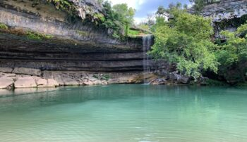 Swimming hole in Dripping Springs, TX