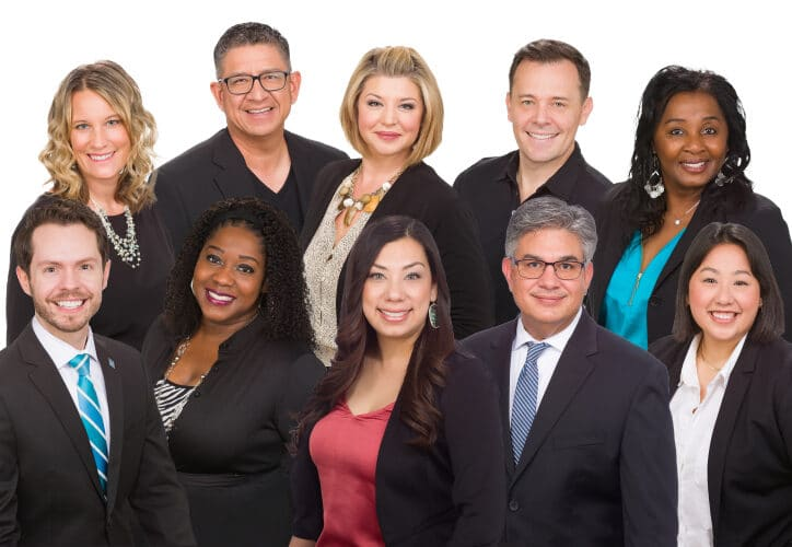 The Groove Realty agents grouped together